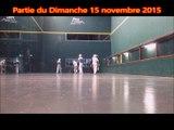 Demi-Finale Béarn Cuir Trinquet: Oloron 1 (Larretche-Bourrus) contre Pau (Pinon-Lolibé)