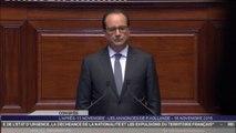 Revoir le discours de François Hollande devant le Congrès de Versailles