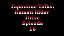 Japanime Talks: Kamen Rider Drive Episode 16 - video dailymotion