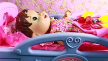 Baby Alive Doll has BROKEN LEG & ARM Sick Goes To Hospital Dr Doctor Baby Boy Attack INJURY