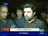 Haider Abbas With Ameer Abbas At Haider Abbas