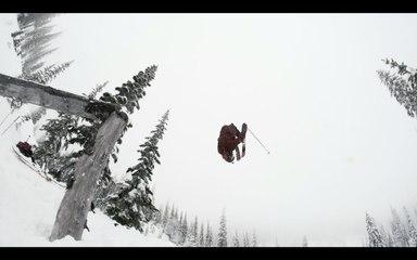 Huge Alaskan Heli-Ski Stack