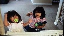 Top Funny Kids Fighting 2015 - Cutest Twin Babies Fighting Lol Video