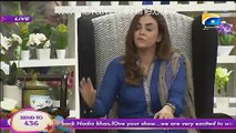 Most Shocking Answer on Vulgarity By Soha Ali Abro
