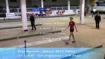 Quarts de finale, tir progressif, Sport Boules, Euro Féminin, Saluzzo 2015