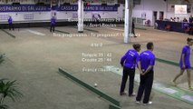 Demi-finales, tir progressif, Sport Boules, Euro Féminin, Saluzzo 2015