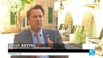 """Xavier Bettel : """"L'Europe devait faire tomber les murs, pas en ériger"""""""