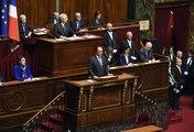 Ce que les télés à l'étranger retiennent du discours de Hollande au Congrès de Versailles