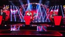 Karen cantó Ven conmigo de J. Aberg y C. Aguilera – LVK Col - Audiciones a ciegas – C