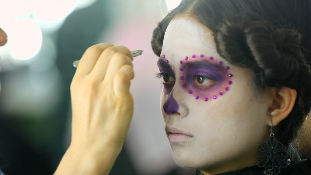 Making The Bond Movie 'Spectre' In Mexico and Makeup