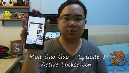 Mod Gao Gao - Episode 1 - Active Lockscreen (Mandarin)