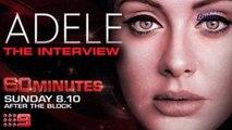 """Adele revela una sorpresa en su entrevista con 60 Minutes Australia y canta su nueva canción """"When We Were Young"""""""