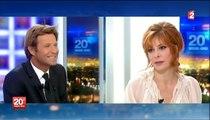 Mylène Farmer- Interview JT Laurent Delahousse - Timeless 2013