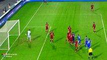 Fedor Smolov Goal Russia1 - 0Croatia (Friendly) 2015