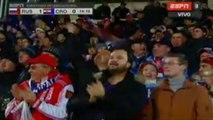 1-0 Fedor Smolov Goal - Russia v. Croatia - Friendly Match 17.11.2015