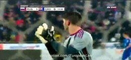 SUPER GOAL Fedor Smolov Russia 1-0 Croatia - 17/11/2015