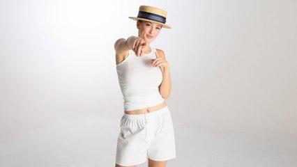 Modelling Men's Underwear on a Woman