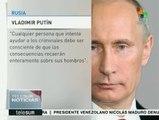 Rusia confirma que avión siniestrado en Egipto fue un atentado
