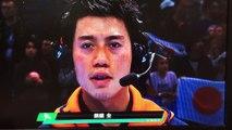 【錦織圭 勝利インタビュー ATPワールドツアー・ファイナルズ  】錦織圭 vs ベルディヒ Kei Nishikori vs T.Berdych ATP World Tour Finals  Interview