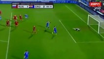 Marcelo Brozovic Amazing Goal - Russia 1-2 Croatia Friendly Match 2015