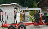 timmervagn traktor