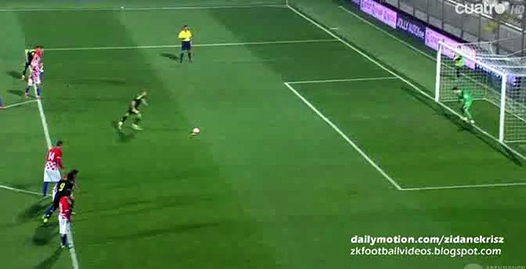 0-1 Gerard Deulofeu Goal - Croatia v. Spain U21 European Championship 17.11.2015 HD