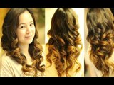 Big Voluminous Curls to Loose Tousled Waves Hair Tutorial
