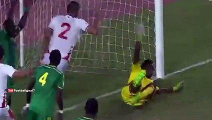 Tunisia 2-1 Mauritania: All Goals & Highlights