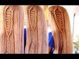 Holiday Double Braided Ladder Hair Tutorial -Kathryn Bernardo Inspired Hairstyle- Beautyklove