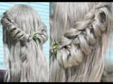 Elegant Twisted Cage Hairstyle for Prom or Wedding