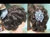 No Heat Easy Messy Twisted Updo for Prom/ Wedding /Special occasion Hair Tutorial