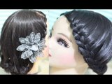 Lace Braid Series 1: Easy Step by Step Lace Braid Tutorial- Lace Braided Updo