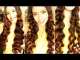 Straw Waves Part 6 - No Heat Miley Cyrus Inspired Loose Waves to Soft Waves and an Update