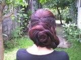 Easy Elegant Prom Formal Updo For long Hair 2012