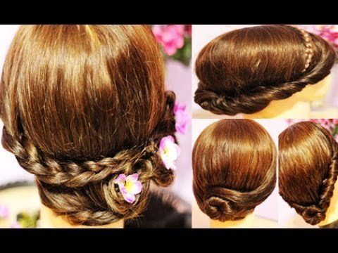 4 Cute and Easy Hairstyles For Wet-Damp Hair- Spring-Summer Hair Tutorial-Beautyklove
