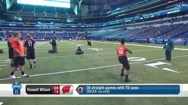 NFL 2012 – Russell Wilson NFL Scouting Combine Video Highlights