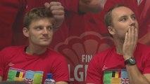 Goffin, Darcis, Bemelmans et Coppejans retenus pour la finale contre la Grande-Bretagne