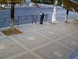 Acidente carro quase mata aluno   obmolocvideos