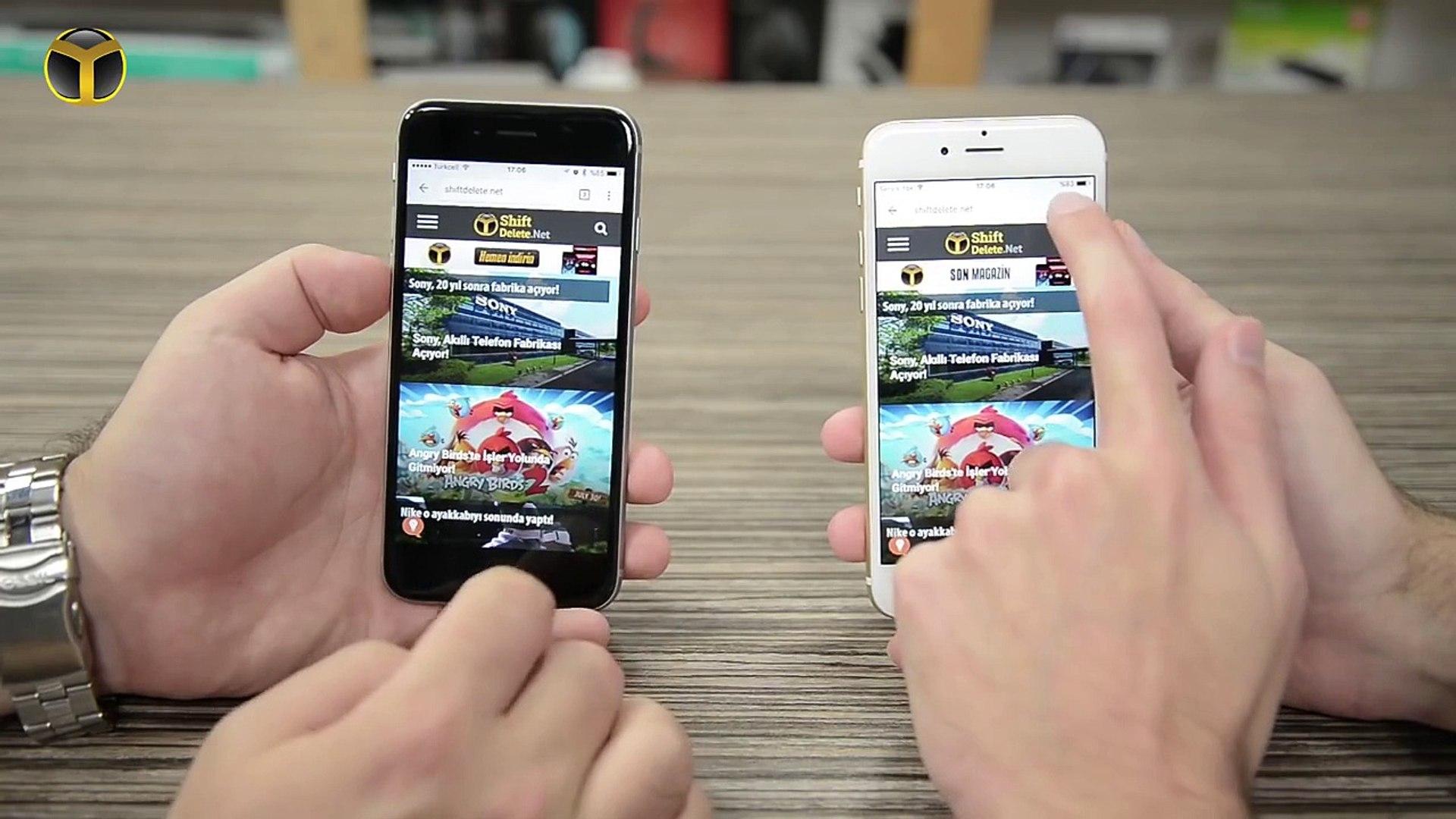 iPhone 6s iPhone 6 Karşılaştırması