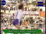 Gabriel Omar Batistuta 184 goals in Serie A (part 4/6): 109 129 (Fiorentina 1998 99)
