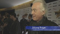 Led Zeppelin Legend Jimmy Page Chats At Awards Show
