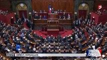 Une Belle entre du President Hollande au Congres Versailles -16/11/2015