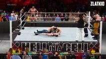 WWE RAW 2015 | Randy Orton & Dean Ambrose & Roman Reigns VS Wyatt Family | WWE 2K15