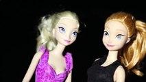 Frozen Elsa Barbie ❤ Anna Doll Hawaii Snorkeling Manta Rays DisneyCarToys Spooky Halloween