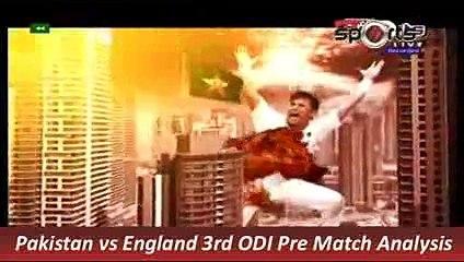 Pakistan vs England 3rd ODI Pre Match Analysis 17 Nov 2015 P 2