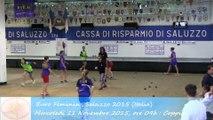 Premier tour de poule, Double, Sport Boules, Euro Féminin, Saluzzo 2015