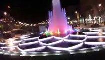 Fontaine Lumineuse Marrakech avenue Mohamed VI