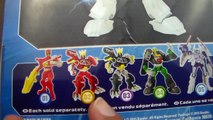 Review: Mighty Morphing Power Rangers Mixx N Morph White Ranger and Tiger Zord