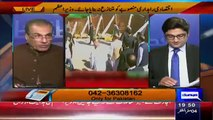 Mujeeb Ur Rehman Shami Praising government efforts