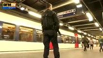 Après les attentats, la sécurité est renforcée dans les transports parisiens